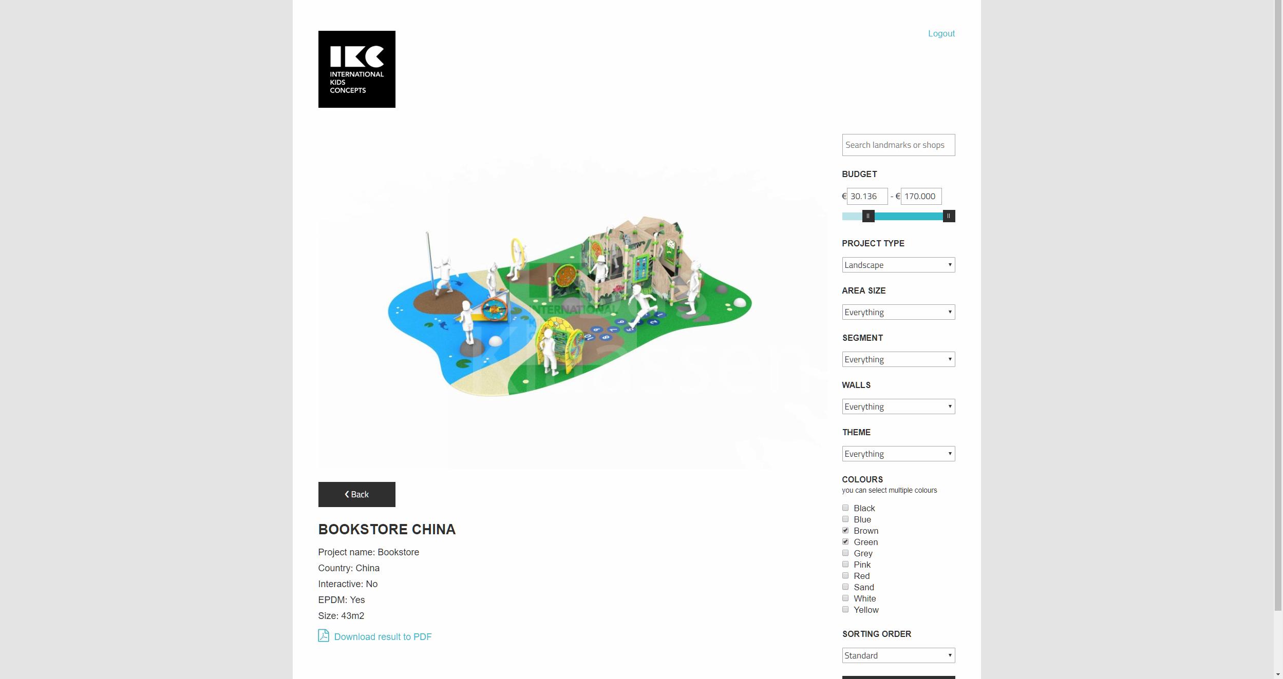 Instore Kids Corners - Sales Tool